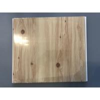 Cheap Wooden Transfer Printing Garage Wall Panels Fireproof For Kitchen / Bathroom for sale