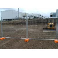 Best Construction Australia Galvanized Temporary Fence 2.4x2.1 Meter wholesale