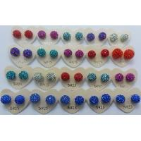 Buy cheap Crystal Ball Stud Earrings from wholesalers