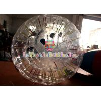 Best Giant LED Lighting Inflatable Zorb Ball With Double-decker Ball Ring wholesale
