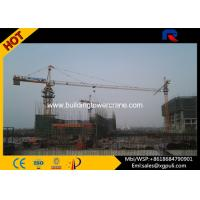 Heavy Duty Construction Lift Equipment , Climbing Tower Crane 1.0T Tip Load