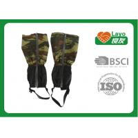 China Portable Camo Hunting Gear Warm Winter Running Gaiters For Boots on sale