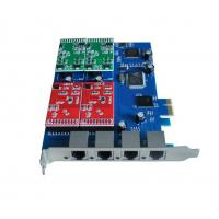 Cheap VOIP telephony cards,4FXS/FXO Asterisk PCI-Express card,TDM400E.TDM400P for sale
