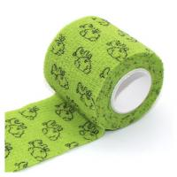 Best Colored Medical Supplies Bandages ElasticCohesiveVet Wrap with Logo Printed wholesale