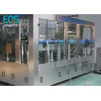 Best 275ml / 300ml /500ml Glass Bottle Carbonated Soda Filling Machine Automatic 3 - In -1 wholesale