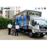 Best Truck Mobile 7D Movie Theater Motion Cinema Simulator With Special Effect wholesale