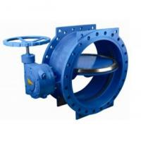 Best 125 lbs / 200psi Double Eccentric / flange Butterfly Valve with HandWheel wholesale