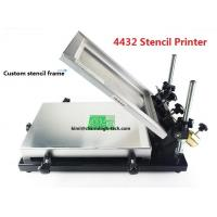 Quality Desktop SMT Manual Pick And Place Machine 320*440mm Stencil Printer Silk screen printer wholesale