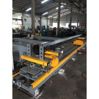 Quality Tapered Light Pole Welding Machine Fit Up Table Pole Body And Flange Welding wholesale