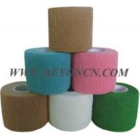 Best Hand Tear Self - adhesive Cotton Elastic Bandage To Control Varicose Veins wholesale