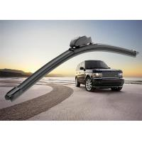 Cheap Flat Car Window Wiper Blades , Audi A4 Replacement Wiper Arm With PVC Spoiler for sale