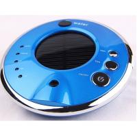 China Air freshener solar car air purifier shell with negative ion HDJHQ3-2 blue color on sale