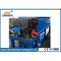 Best Color Steel Downspout Roll Forming Machine , Full Automatic Downspout Elbow Machine wholesale