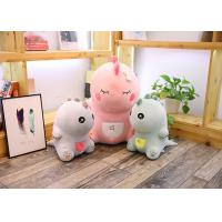 Best Cute Pink Dinosaur Soft Toy Doll Handcuffs Two In One Plush Toy CE Approved wholesale