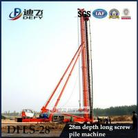 Best High Quality 28m Depth DFLS-28 Hydraulic Rotary Piling Rigs for Sale wholesale