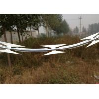 Best Organization Units Razor Wire Fence 350 - 550 Mpa Tensile Strength Easy Installation wholesale