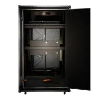 Cheap Digital 55 Inch Magic Photo Booth , Mirror Photobooth With Flight Case for sale