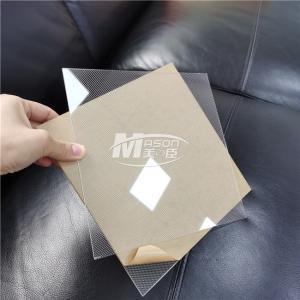 Best Laser Dot LED Acrylic Light Guide Plate 20mm LGP PMMA For LED Light Box wholesale