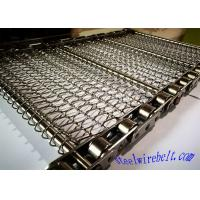 Best Selected Stainless Steel Chain Mesh Conveyor Belt ,  Metal Mesh Belt Heat Treatment wholesale