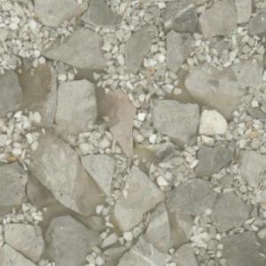 Gold mixed White stone wall mosaic