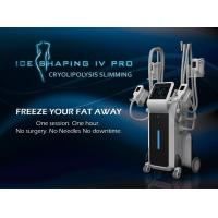 Best Hottest sale 4 handles work simultaneously cryo fat freezing cryo weight loss machine wholesale