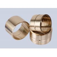 Rolling Machines Casting Bronze Sleeve Bearings High Precision