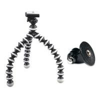 Flexible Bendable Tripod + Tripod Mount for GoPro Hero, Hero2, Hero3, Hero3+ &