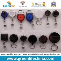 China Factory Direct Multi Styles Custom Logo Printing Plastic Retractable Badge