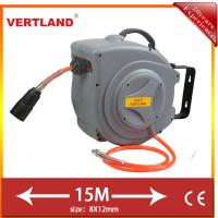 Buy cheap Auto Rewind Wall Swivel Mounted Retractable Hose air hose reel GQ150D 15m 5/16 from wholesalers