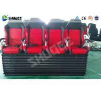 Best Hydraulic 4DOF Motion Theater Chair With  Push Back /  Leg Tickle Effect wholesale