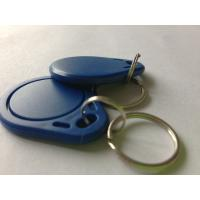 Buy cheap Free samples keyfob 125khz rfid keychain with T5577 chip from wholesalers