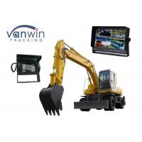 Best 10.1 Inch TFT LCD backup camera monitor with 4 Cameras inputs, 1024 x 600 Resolution wholesale