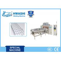 China Cable Tray Welded Wire Mesh Welding , Basket cable making machine on sale