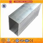 Best Customized Size Mill Finished Aluminium Industrial extrusion tube Profile wholesale