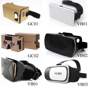 Cheap OEM Virtual Reality Cardboard Box Version VR BOX 2 . 0 Virtual Reality 3D Glasses for sale