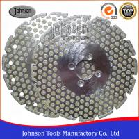 Best Double Side Dots Electroplated Diamond Tools For Marble / Granite Cutting wholesale
