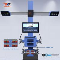Best Two Monitor 3D Front End Alignment Equipment T58 Mobile For Cars With Four Cameras wholesale