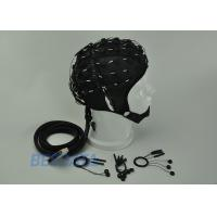 Cheap High Precision EEG Electrode Cap With Different Sensor Electrodes 16 ~ 128 Channel for sale