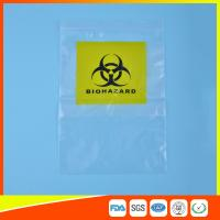 Best Reclosable Clear Ziplock Lab Guard Specimen Bag With Three Layer wholesale