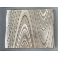 Best Study Ceiling Laminated Plywood Wall Panels , Wood Grain Laminate Sheets Wave Design wholesale