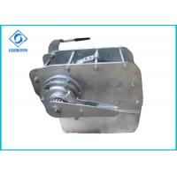 Best Manual Industrial Hydraulic Winch Barge Connecting Sidewinder / Anchor wholesale
