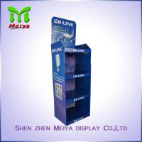 Cheap Floor Advertising Display Stands for Sport Products , Cardboard Sunglasses for sale