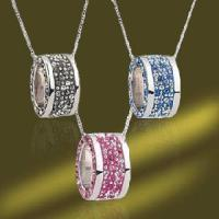 Best 2011 Latest 925 Sterling Silver Crystal Jewelry Pendants with Crystal (PSL3260) wholesale