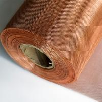 Best Phospher Bronze / Brass / Copper Wire Mesh With Excellent Permeability wholesale