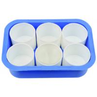 China Plastic Brush Washer  Plastic cup and cup set Plastic bowl painting tools accessoires on sale
