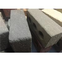 Best Sandblast Face Three Holes Perforated Clay Bricks With Variety Colors wholesale