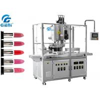 Best 10 Nozzles Automatic Silicone Mold Lipstick Making Machine With Heating Tanks wholesale