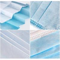 Best Hospitals Non Woven Fabric Face Mask Earloop 3 Ply High Elasticity Comfortable wholesale