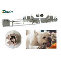 Best Single / Double Color Pet Food Production Line For High Protein Meat Nutrition wholesale