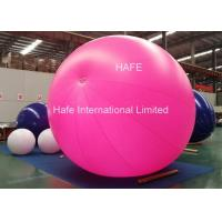 China 3m LED Light Candy Color Inflatable Helium Balloon For Advertising And Party on sale